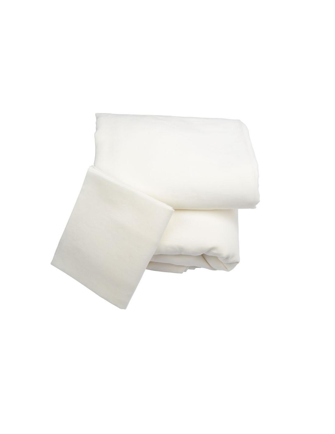 parure de draps lin bio biotissus noctea. Black Bedroom Furniture Sets. Home Design Ideas