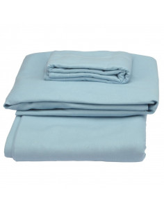 Parure de draps en coton bio Biotissus