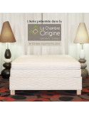 Matelas vegan Emelys 2 latex naturel