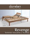 Sommier relaxation manuelle Revenge de Dorelan