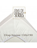 Drap housse coton bio Nocole Germain made in France
