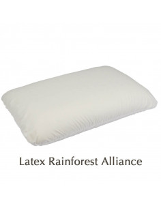 Oreiller latex naturel Rainforest Alliance