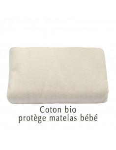 Protège matelas bébé en coton bio Aquanatura