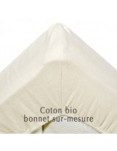 Protège matelas en coton bio