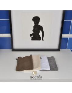 Gant de toilette en coton bio made in France