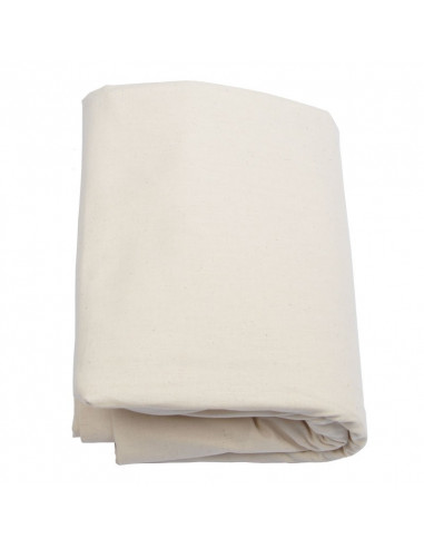 Drap housse coton bio Biotissus popeline