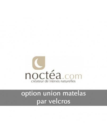 Option jumelage par Velcros pour matelas