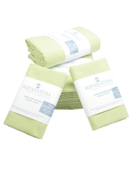 Parure de draps - coton bio - vert