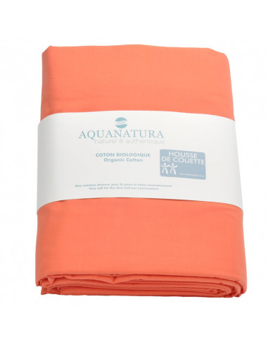 Housse de couette coton bio Aquanatura made in France