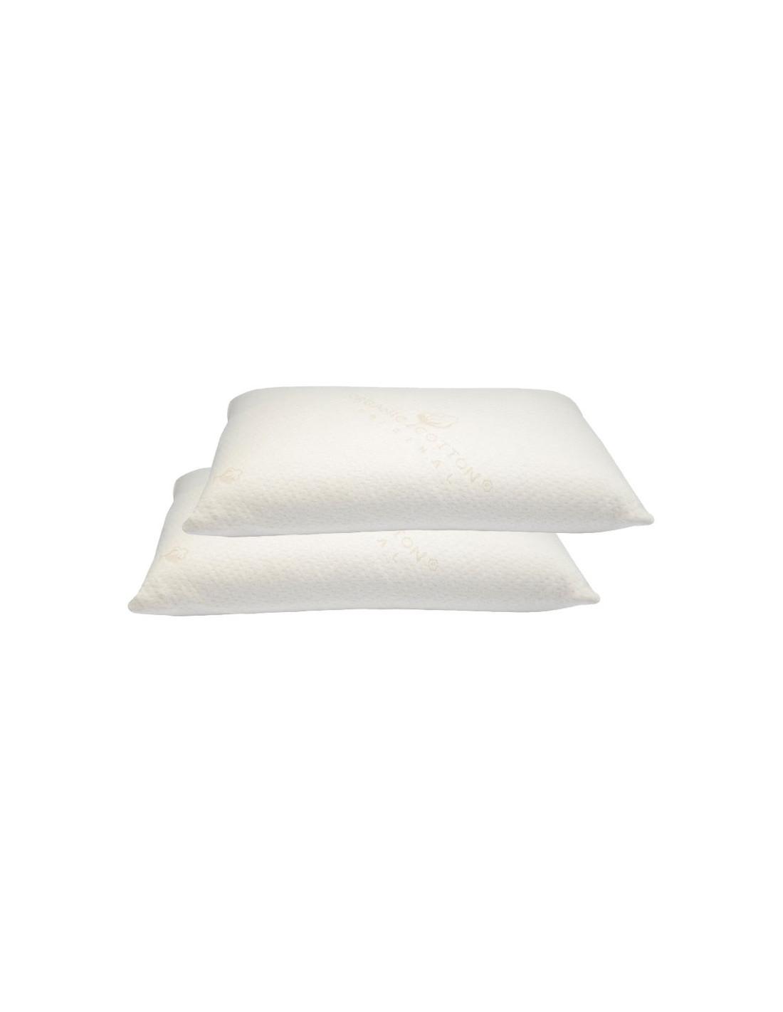lot 2 oreillers ima latex naturel classic noctea. Black Bedroom Furniture Sets. Home Design Ideas