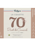 Couette plumes Lestra Softyne 70% duvet