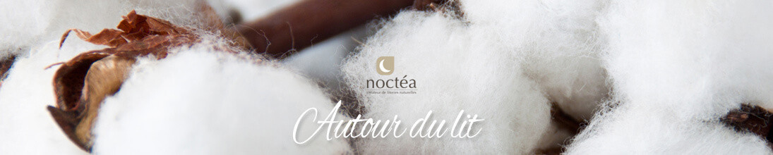 Couette en coton bio fabriquée en France - Literies naturelles Noctea
