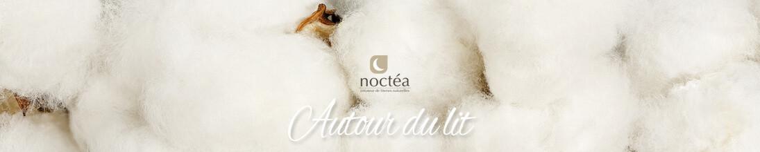 Draps et parures confectionnés en coton bio en Aquitaine