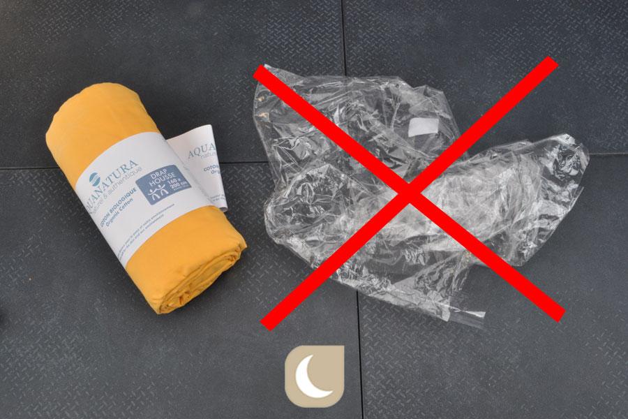 Aquanatura supprime les emballages plastique