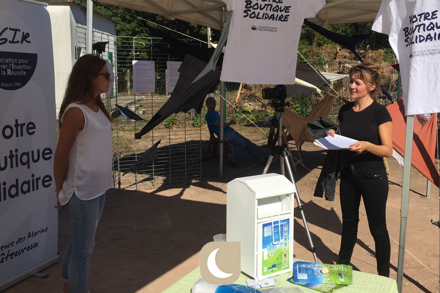 Interview sur l'ecovillage du World CleanUp Day