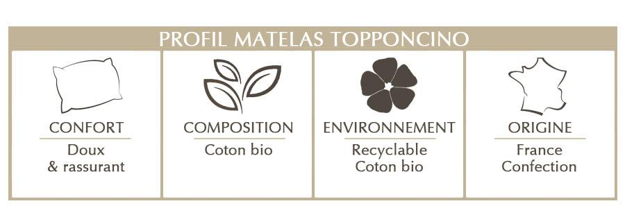 topponcino en coton bio