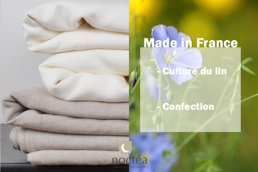 draps en lin made in France