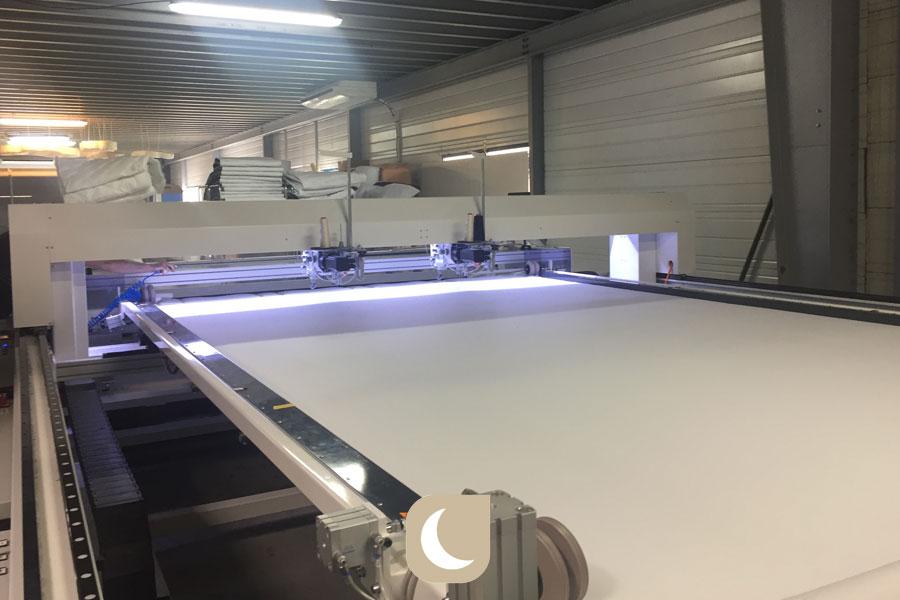 machine de fabrication des matelas Noctéa